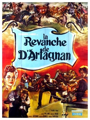 D'Artagnan contro i 3 moschettieri