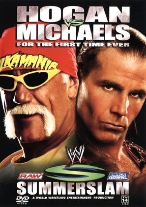 WWE Summerslam - DVD cover (thumbnail)