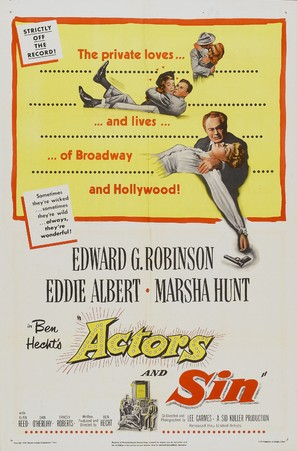 Actor's and Sin - Movie Poster (thumbnail)