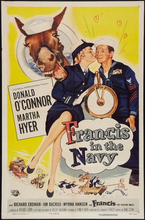 Francis in the Navy - Movie Poster (thumbnail)