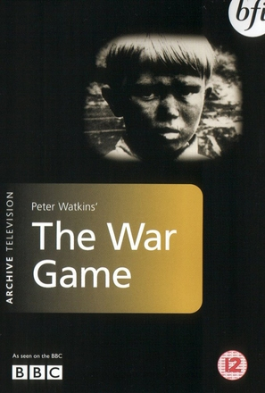 The War Game - British DVD cover (thumbnail)