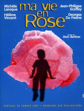 Ma vie en rose - French Movie Poster (thumbnail)