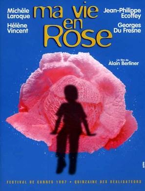 Ma vie en rose - French Movie Poster (thumbnail)