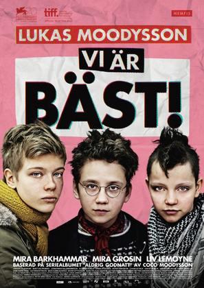 Vi är bäst! - Swedish Movie Poster (thumbnail)