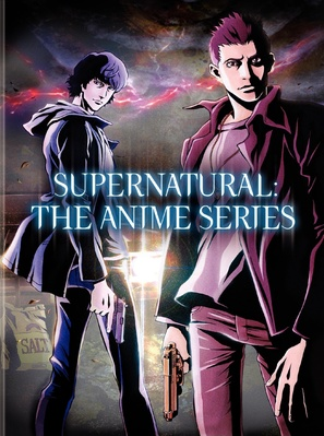"""Supernatural: The Animation"" - DVD cover (thumbnail)"