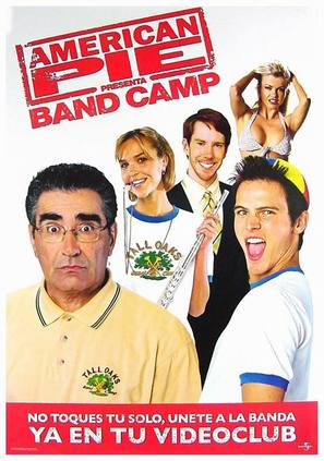 American Pie Presents Band Camp - Spanish Movie Poster (thumbnail)