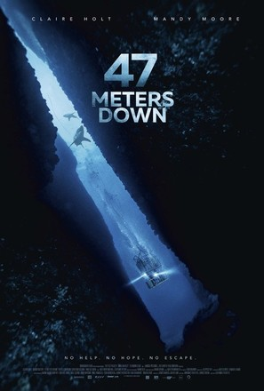47 Meters Down - British Movie Poster (thumbnail)