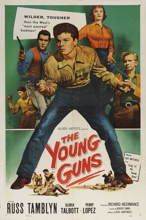 The Young Guns - Movie Poster (thumbnail)