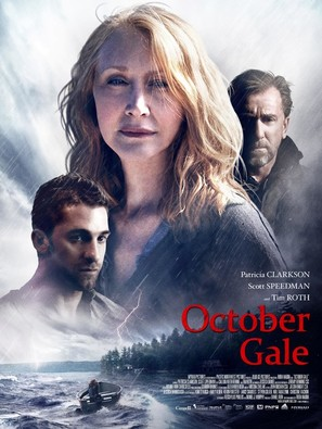 October Gale - Canadian Movie Poster (thumbnail)