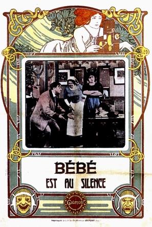 Bébé est au silence - French Movie Poster (thumbnail)