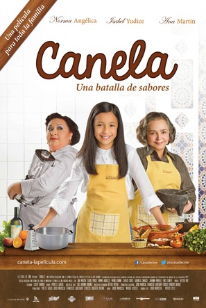 Canela - Mexican Movie Poster (thumbnail)