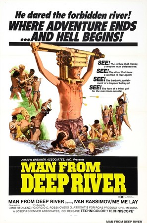 The Man from the Deep River - Movie Poster (thumbnail)