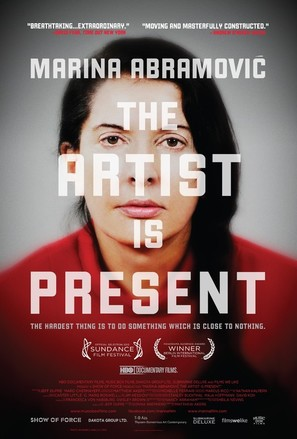 Marina Abramovic: The Artist Is Present - Movie Poster (thumbnail)