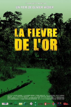 La fièvre de l'or - French Movie Poster (thumbnail)