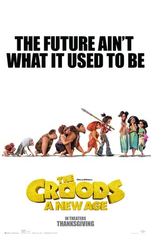The Croods: A New Age - Movie Poster (thumbnail)