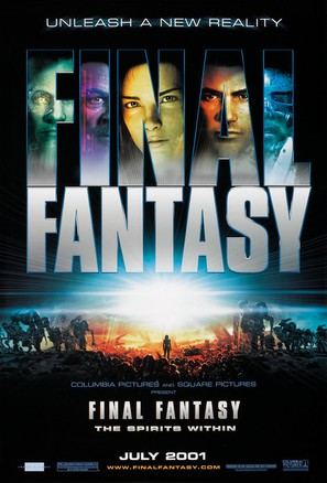 Final Fantasy: The Spirits Within - Advance poster (thumbnail)