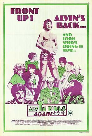 Alvin Rides Again - Australian Movie Poster (thumbnail)