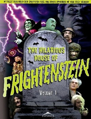 """The Hilarious House of Frightenstein"" - Canadian Movie Cover (thumbnail)"
