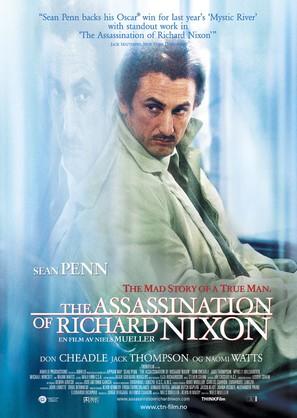The Assassination of Richard Nixon - Norwegian Movie Poster (thumbnail)