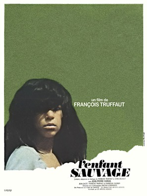 L'enfant sauvage - French Movie Poster (thumbnail)