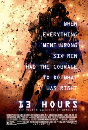 13 Hours: The Secret Soldiers of Benghazi - Movie Poster (thumbnail)