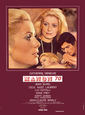 Manon 70 - French Movie Poster (thumbnail)