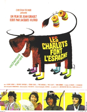 Les Charlots font l'Espagne - French Movie Poster (thumbnail)