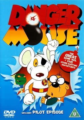 """Danger Mouse"" - British DVD movie cover (thumbnail)"
