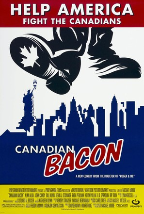Canadian Bacon - Movie Poster (thumbnail)