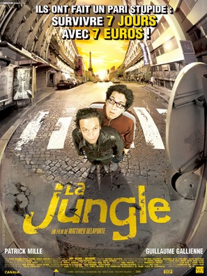La jungle - French Movie Poster (thumbnail)