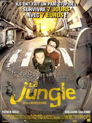 La jungle - French Movie Poster (thumbnail)