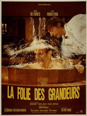 La folie des grandeurs - French Movie Poster (thumbnail)