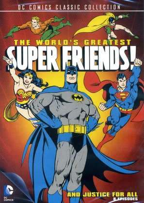 """The World's Greatest SuperFriends"" - DVD movie cover (thumbnail)"