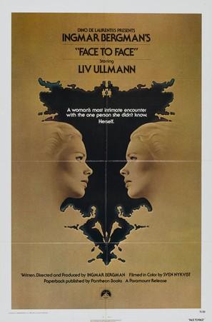 Ansikte mot ansikte - Movie Poster (thumbnail)