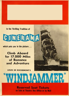 Windjammer: The Voyage of the Christian Radich - Movie Poster (thumbnail)