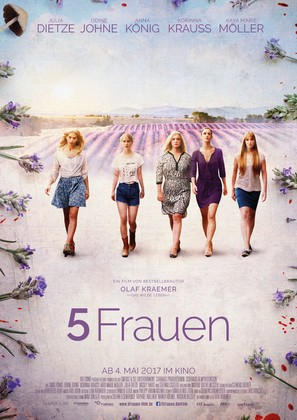 5 Frauen - German Movie Poster (thumbnail)