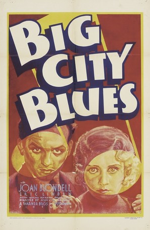 Big City Blues - Theatrical poster (thumbnail)
