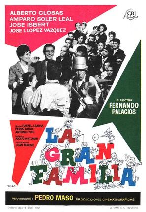 La gran familia - Movie Poster (thumbnail)