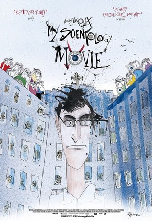 My Scientology Movie - British Movie Poster (thumbnail)