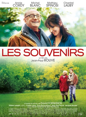 Les souvenirs - French Movie Poster (thumbnail)