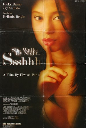 ssshhh she walks by night 2003 movie posters