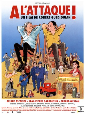 À l'attaque! - French Movie Poster (thumbnail)
