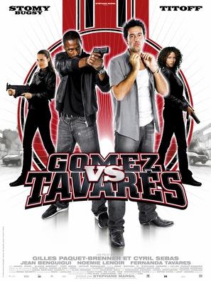 Gomez contre Tavarés - French Movie Poster (thumbnail)