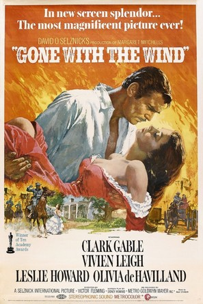 Gone with the Wind - Movie Poster (thumbnail)