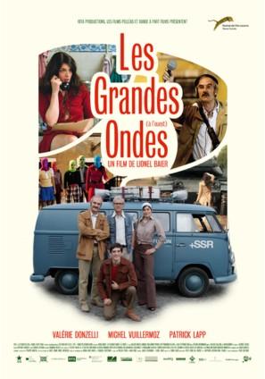 Les grandes ondes (à l'ouest) - Swiss Movie Poster (thumbnail)