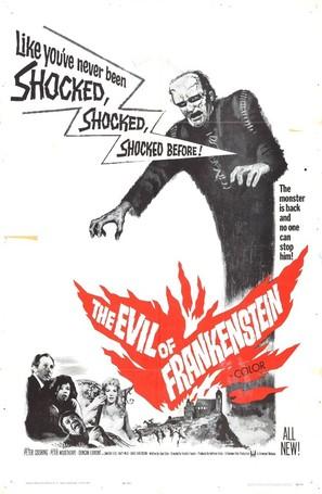 The Evil of Frankenstein - Movie Poster (thumbnail)