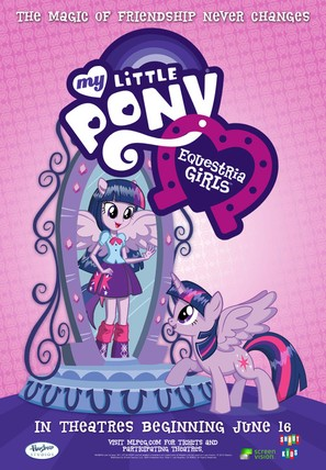 My Little Pony: Equestria Girls - Movie Poster (thumbnail)