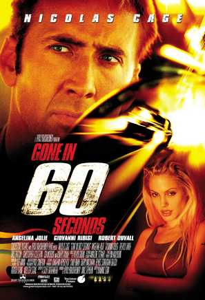 Gone In 60 Seconds - Movie Poster (thumbnail)