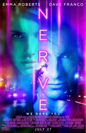Nerve - Theatrical movie poster (thumbnail)