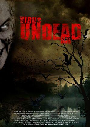 Virus Undead - German Movie Poster (thumbnail)